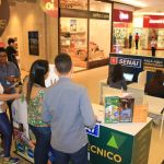 Estande do Senai no Maceió Shopping divulga oportunidades de qualificação