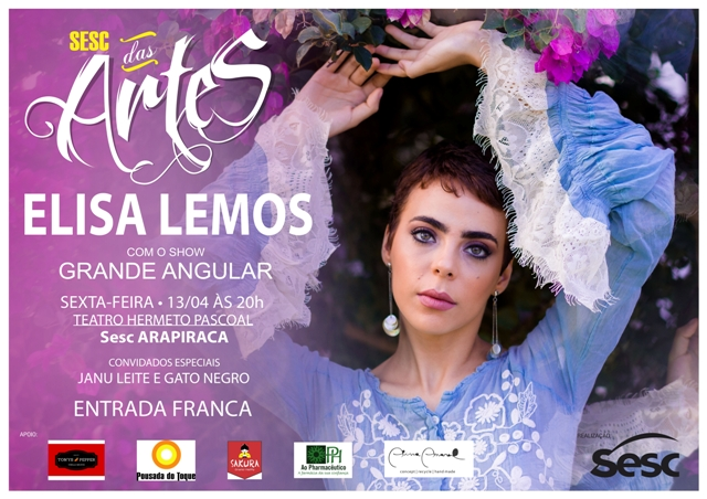 Cartaz Elisa Lemos Final