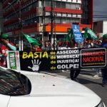 'Dia do Basta': sindicalistas alagoanos protestam na capital