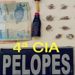 Adolescente é apreendido suspeito de tráfico de drogas em Cajueiro