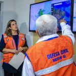 Defesa Civil está monitorando chuvas em Maceió nesta segunda