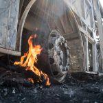 Número de ataques no CE sobe para 153 após mais ônibus serem queimados