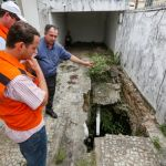Representantes do governo federal, Estado e município vistoriam área no Pinheiro