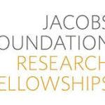 Oportunidade de bolsa de pesquisa  pelo Jacobs Foundation Research Fellowship Program