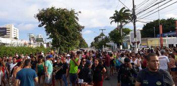 """""""Simulado não, queremos solução"""": moradores do Pinheiro fazem protestos"""