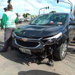 Colisão deixa três feridos em Arapiraca