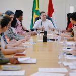 Governador se reúne com Movimento Unificado de Mulheres Alagoanas