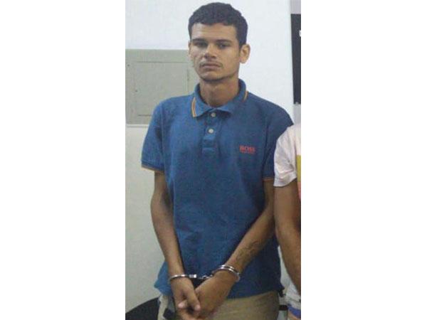 Wellington Silva de Miranda Dias foi preso após ação integrada entre policiais de três estados do Nordeste FOTO: CORTESIA