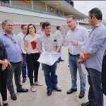 Renan Filho visita obras no Rei Pelé solicitadas pela CBF