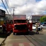 Agentes da SMTT evitam incêndio no Centro de Arapiraca