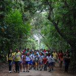 Ação em parques celebra redução do desmatamento em AL