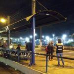 Fiscalização da SMTT evita queima de parada de ônibus
