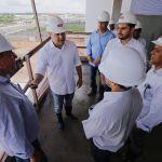 Hospital Metropolitano já está com 80% das obras executadas