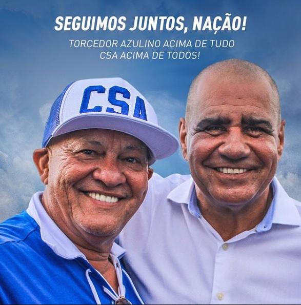 Rafael Tenório segue no cargo de presidente do CSA