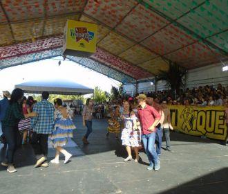 Saúde leva apresentações juninas ao Maceió Shopping