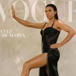 Marta Silva estampa capa de revista de moda