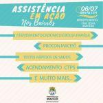 Assistência em Ação leva serviços para o Benedito Bentes