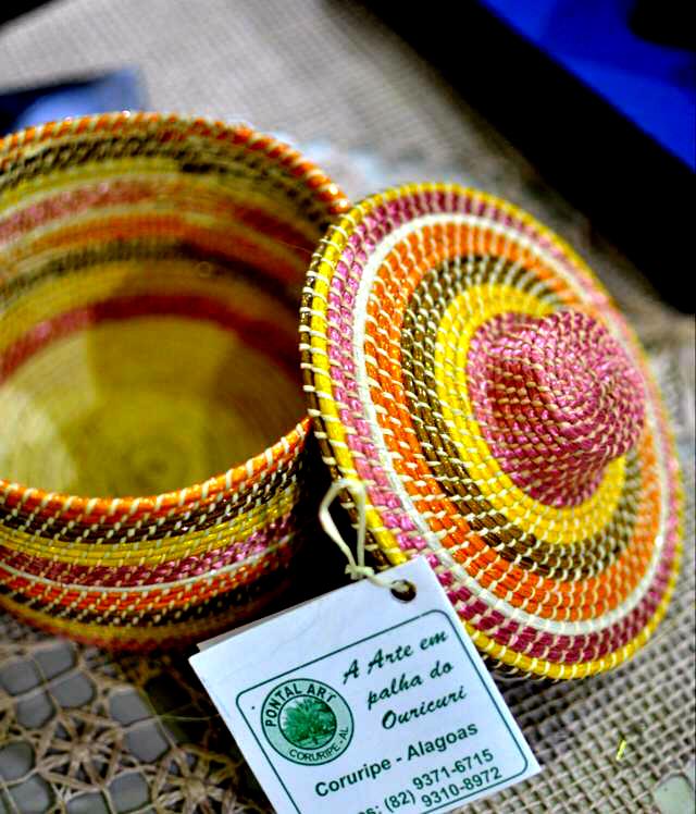 Caixa-Palha de Pontal do Coruripe // Créditos: Artesol.
