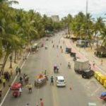 Atividades na rua fechada, na orla da Ponta Verde, serão suspensas