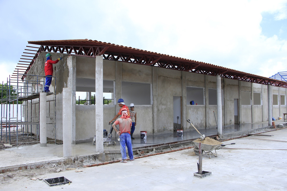 Escola em construção