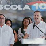 Durante entrega de escola, governador anuncia novos investimentos para o Agreste