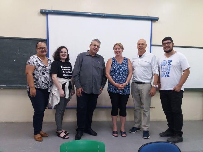 Palestra sobre Educação Internacional - PPGE - UFAL