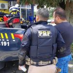 PRF prende homem por adulteração de veículo na BR 316