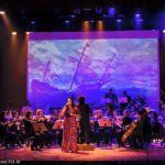 O mar de músicas, poesias e sensações de Irina Costa e Filarmônica de Alagoas
