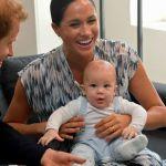 Filho de Meghan e Harry rouba a cena em compromisso oficial à África do Sul
