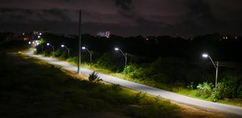 Loteamento Serraria II ganha nova iluminação e pavimentação
