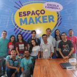 Escola Sesi Cambona apresenta Espaço Maker a estudantes da Ufal