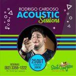 Show solo de Rodrigo Cardoso acontecerá em Maceió