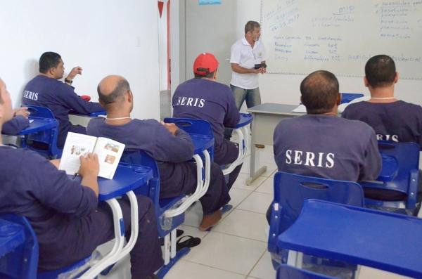: Seris contabiliza resultados positivos com oferta de educação formal aos custodiados - Jorge Santos