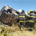 Acidente com carreta faz uma vítima fatal na BR-101