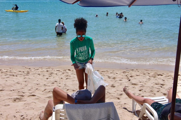 A previsão é de que o projeto Nossa Praia alcance cerca de 60 mil pessoas, de modo direto e indiretoArquivo Ascom IMA/AL
