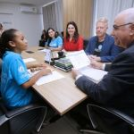 Comitiva do Unicef reconhece avanços na política para crianças em Alagoas
