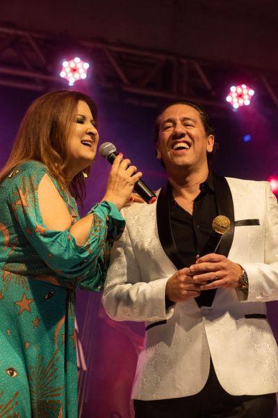 Wilma Araújo e Altemar Junior. Fotos: Divulgação