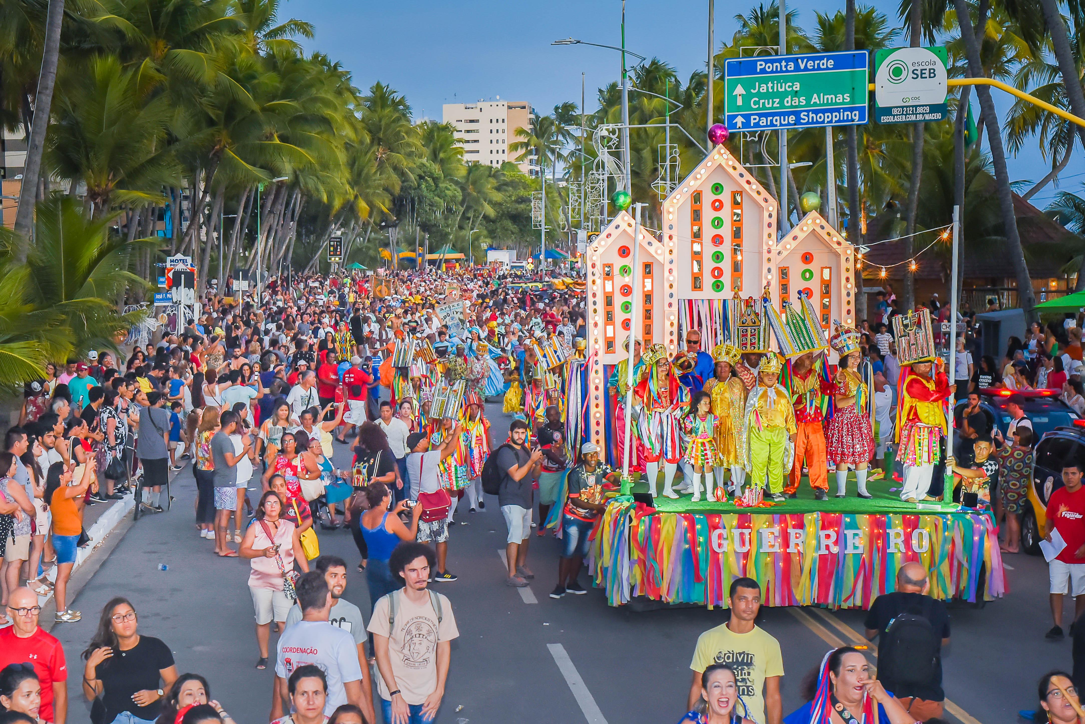 Natal dos Folguedos: Cortejo cultural. Foto: Átila Vieira | Secom Maceió
