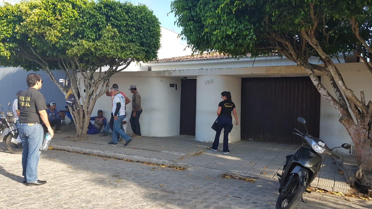 PF realiza operação para recuperar mais de R$ 2 mi desviados pela gestão do ex-prefeito Fábio Aurélio (Foto: Polícia Federal)