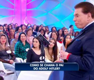 Silvio Santos diz saudação nazista 'Heil, Hitler' durante programa