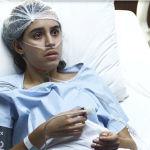 Após cirurgia, Gabriela chora e diz que não quer morrer