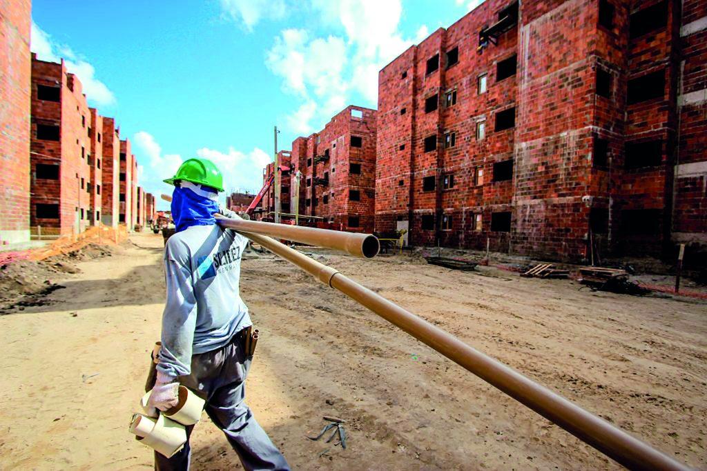 Construção civil é uma das áreas com cursos que ofertam vagas de qualificação profissional. Foto: Arquivo/Secom Maceió