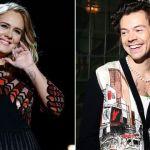 Adele e Harry Styles são vistos juntos no Caribe e fãs especulam romance