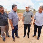 Obras de pavimentação avançam nos municípios de Pindoba e Belo Monte