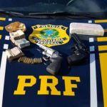 PRF apreende drogas e prende três durante fiscalizações