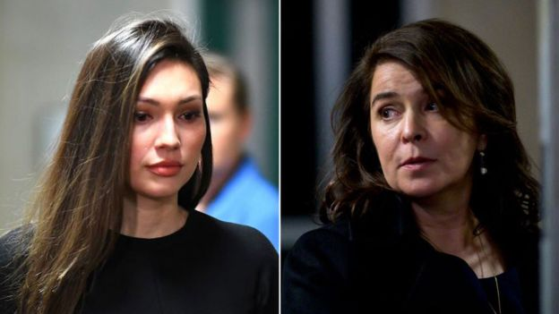 Jessica Mann (à esquerda) e Anabella Sciorra (à direita), ambas acusaram Weinstein por estupro