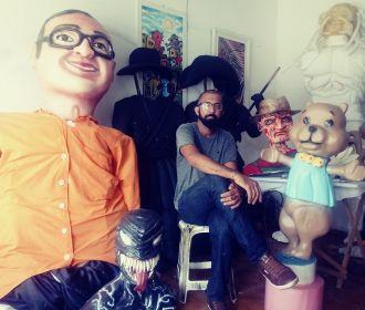 A criatividade de um bonequeiro em Maceió!
