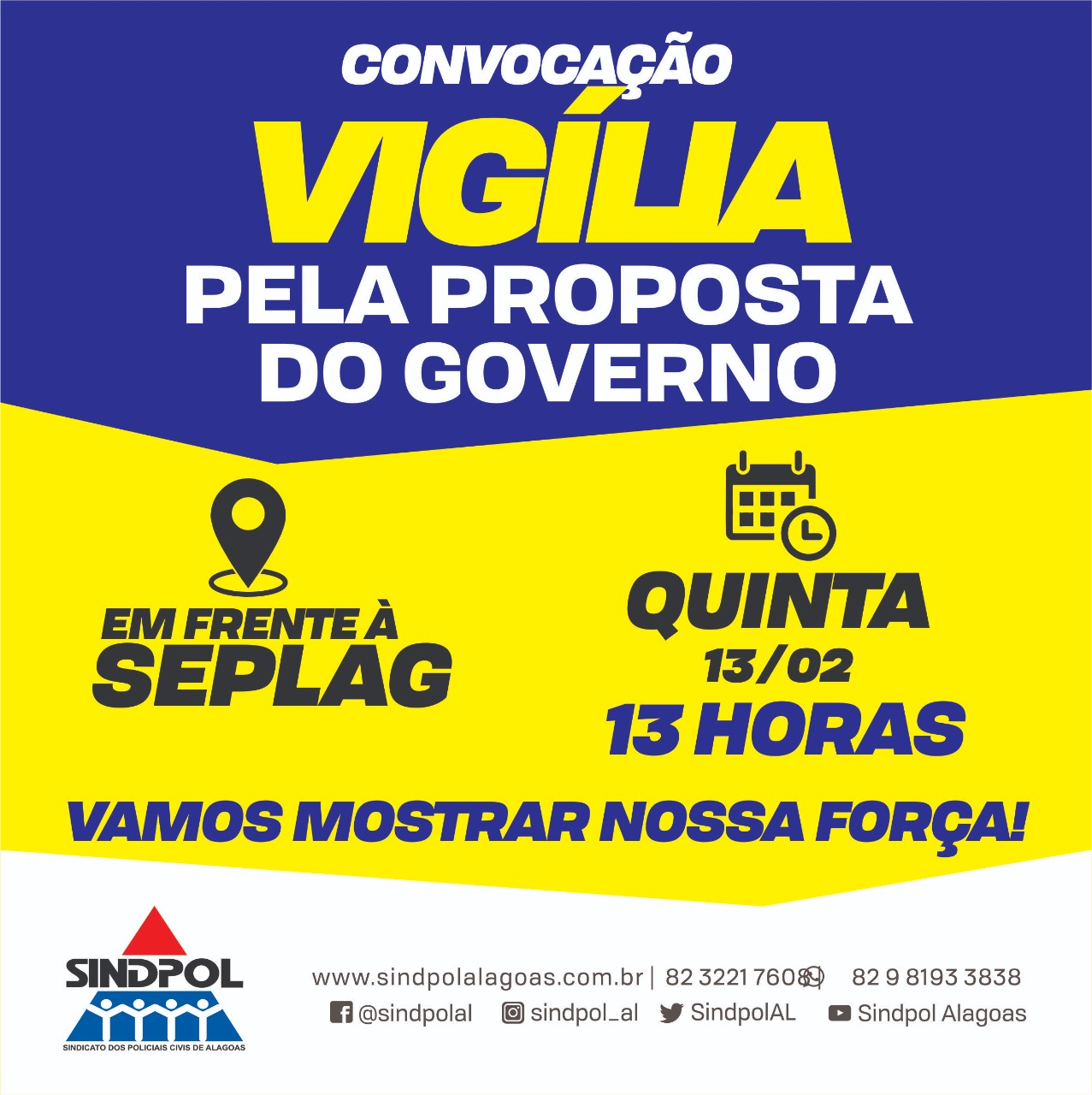 Divulgação/Sindpol