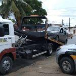 Veículos irregulares são retirados das ruas durante fiscalização