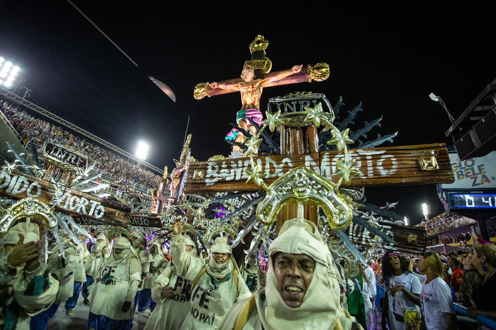 Jesus nascido no morro - Foto: Fábio Tito/G1